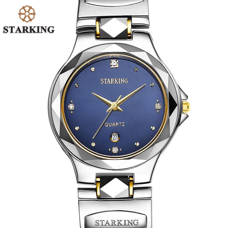 STARKING Men Relogio Tungsten Steel Watch Relojes Hombre Top Brand Swiss Movement Quartz Men Casual Business Analog Watch 3ATM