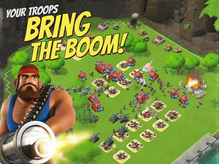 Boom Beach v23.166   Boom Beach v23.166Requirements: 4.0.3 Overview: Welcome to Boom Beach: come with a plan or leave in defeat!  Fight the evil Blackguard with brains and brawn in this epic combat strategy game. Attack enemy bases to free enslaved islanders and unlock the secrets of this tropical paradise. Create a Task Force with players around the world to take on the enemy together. Scout plan then BOOM THE BEACH!  PLEASE NOTE! Boom Beach is free todownloadand play. However some game…
