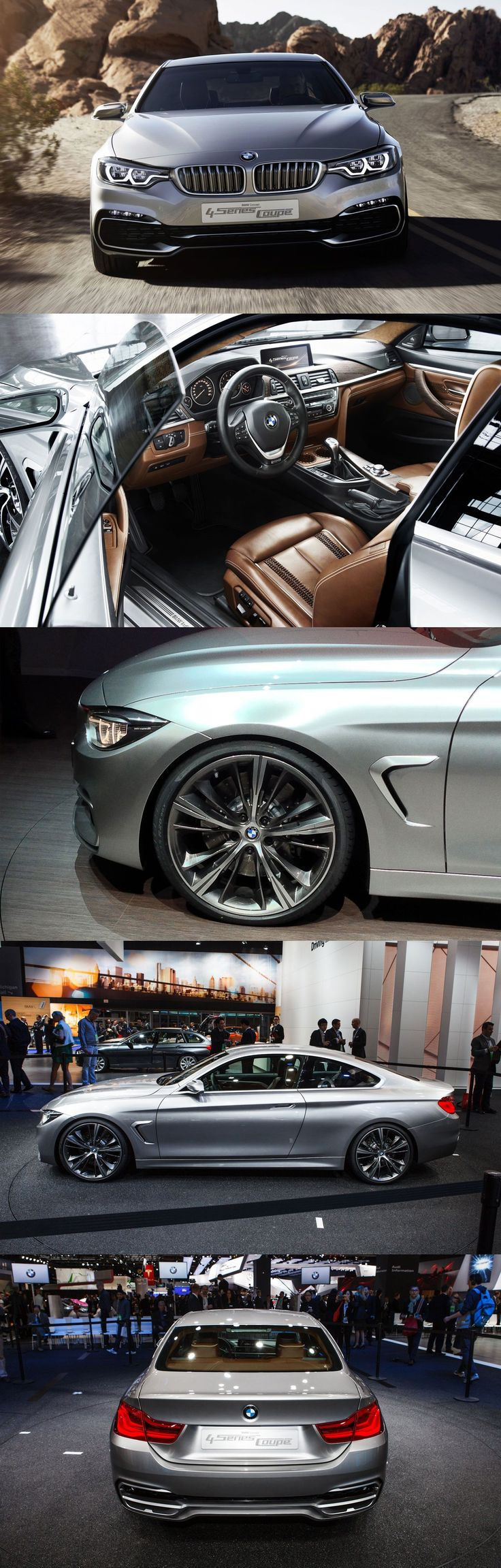 BMW 4-Series Coupe Concept ✦⊱pinterest : @aiyanacooper1 ✦