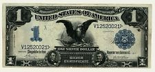Series 1899 $1 One Dollar Silver Certificate Black Eagle Note FR #239 VF    0021