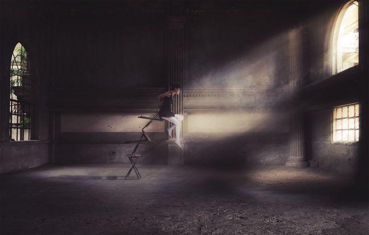Conviction by CJ Tajonera Bio - Surreal Fine Art Photography