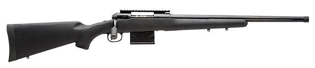 New for 2015, Savage Arms has added detachable 10-round magazines to its line of law enforcement bolt-action rifles. Called the 10 FCP-SR rifles, these three gun are all chambered for the 308 Win cartridge. Each of the guns has a threaded barrel and come with a thread protector. Barrels are fluted and finished in matte …   Read More …