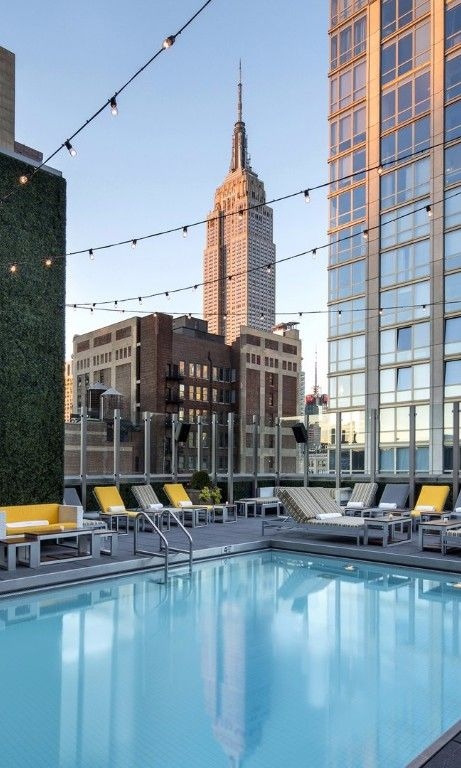 Best Hotel Pools In New York City