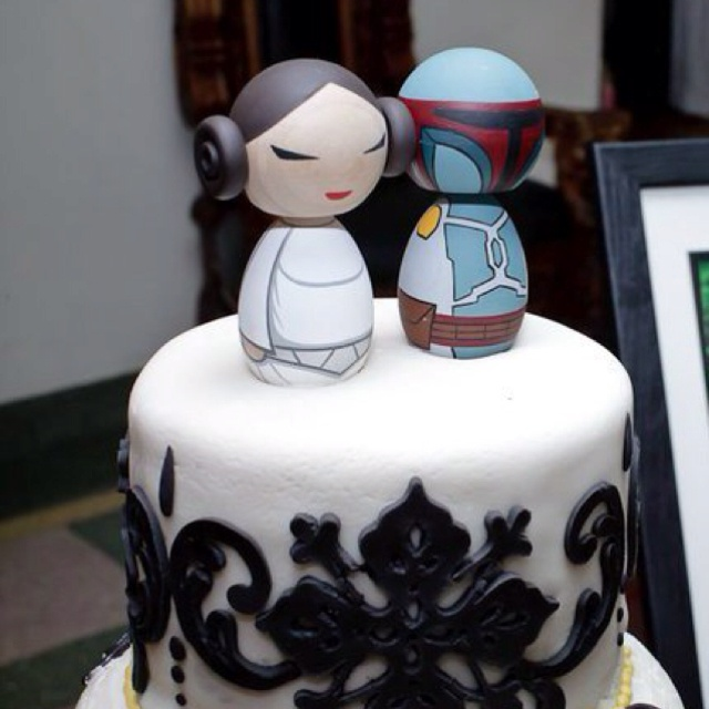 Star Wars wedding topper