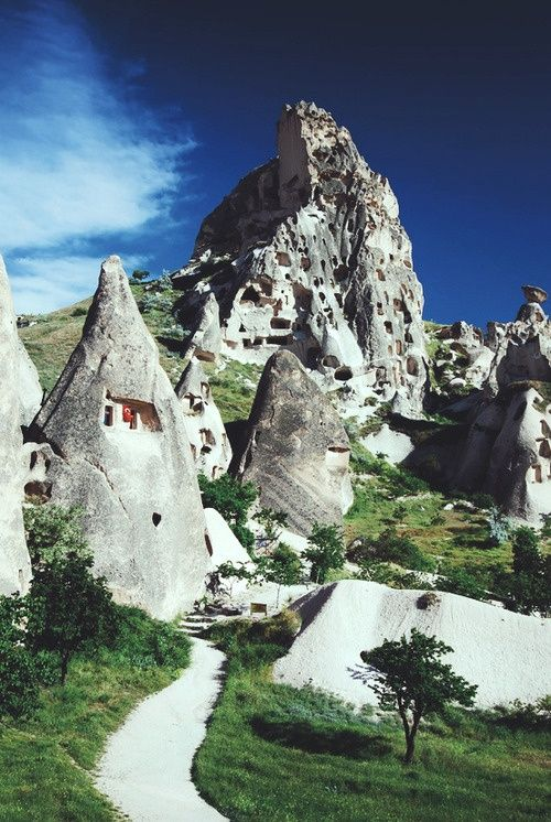 Rock Houses Cappodocia,Turkey.I want to go see this place one day.Please check out my website thanks. www.photopix.co.nz