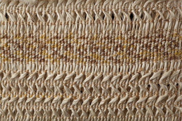 """Medium: muka (New Zealand flax fibre), natural dyes. Size: 7.5 x 6.5 x 1.5 inches (excl. handles). Natural dyes: Tānekaha bark (brown), Raurēkau bark (yellow) """"The pattern intricately depicts the subtle ripples—aramoana of the Pacific Ocean. Kete Tāniko makes reference to the processes used to form this delicate basket."""