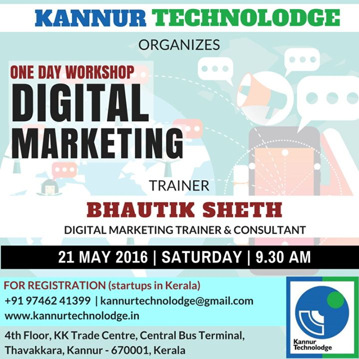 One day workshop on #Digitalmarmetinh by iVIPANAN at #Kannur #Kerala.