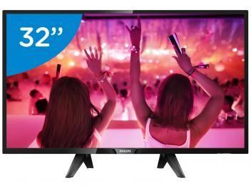 """Smart TV LED 32"""" Philips 32PHG5102 - Conversor Digital 3 HDMI 2 USB PROMOÇÃO MAGA OFF ATÉ 70% DE DESCONTO, APROVEITEM!! de R$ 1.399,99 por R$ 1.181,72   em até 10x de R$ 118,17 sem juros no cartão de crédito  ou R$ 1.099,00 à vista (6% Desc. já calculado.)"""