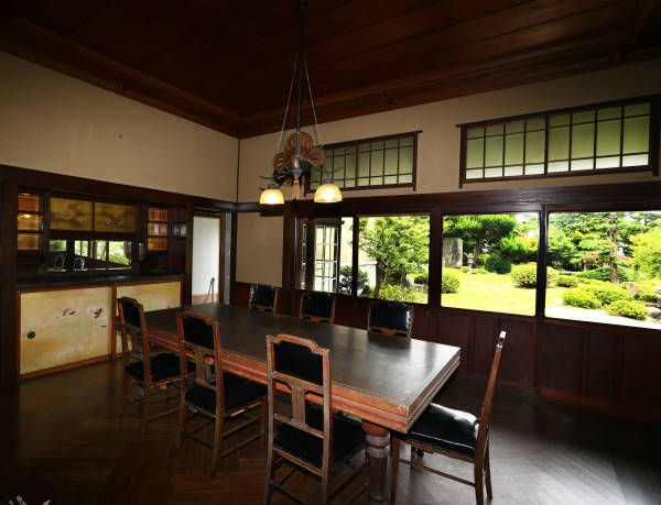 九州の炭鉱王、伊藤伝右衛門と白蓮の邸宅