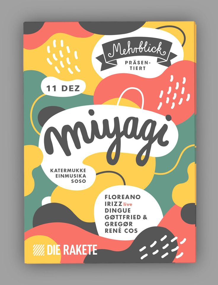 Mehrblick december Artwork on Behance -- Event Flyer Design Ideas & Templates
