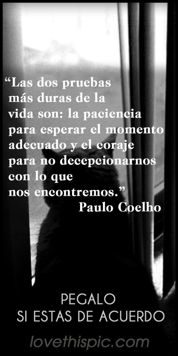 Espanol Quotes Paulo Coelho Love