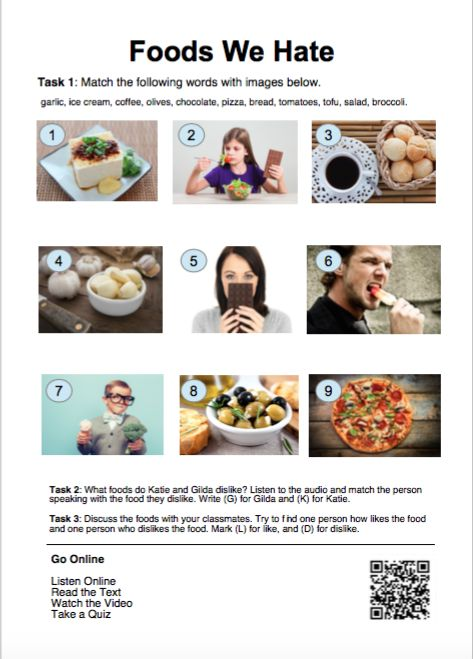 58 best english lessons on elllo images on pinterest english katie and gilda talk about the different foods that they hate esl students and teachers can access free listening lessons that come with audio script forumfinder Gallery