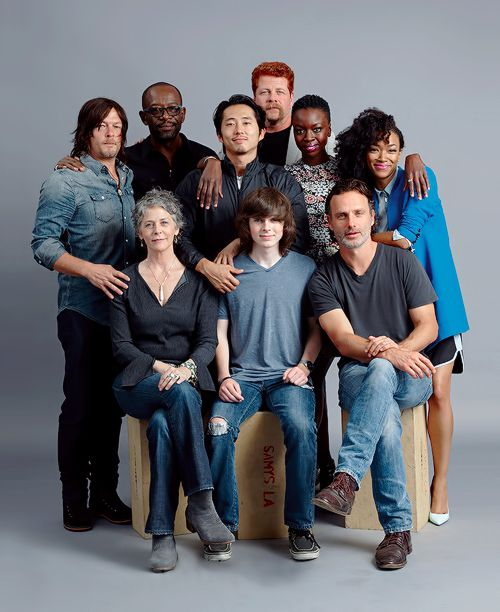 The Walking Dead Cast photographed by Michael Muller for Entertainment Weekly