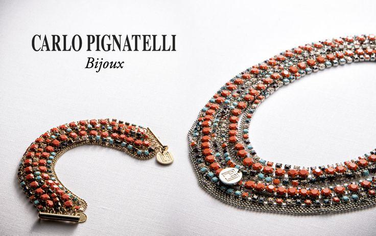 Carlo Pignatelli Bijoux - shop on line at www.carlopignatel... #bijoux #bracelet #necklace #jewels #accessories