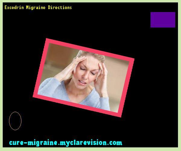 Excedrin Migraine Directions 203451 - Cure Migraine