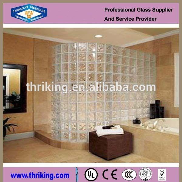 kaca dinding blok di kamar mandi -Kaca bangunan-ID produk ...
