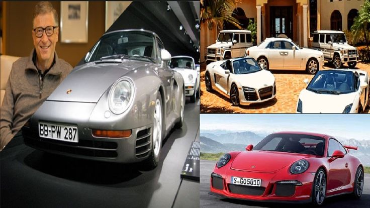 Bill Gates Car Collection 2016.  Aside from computers and poverty alleviation Gates is also known for being fascinated with vehicles. He has been seen driving a 2008 Ford Focus even as the car giant had a funny exchange with Gates regarding the similarities of the automotive and computer industries.  Gates favorites are cars from the German manufacturer Porsche  Porsche 930. Porsche Carrera 911. Porsche 959 Coupe.  About Bill  Gates ::  Married to: Melinda French Gates Children: Three Career…