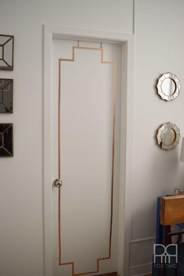washi tape doors