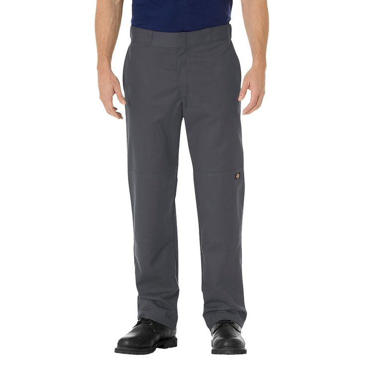 Dickies Men's Big & Tall Regular Straight Fit Flex Twill Double Knee Work Pant-