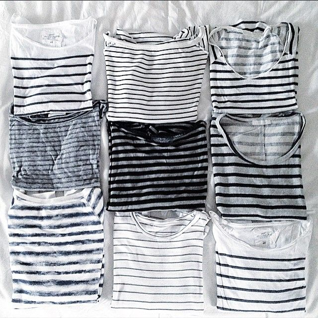 striped tee obsession #style #fashion #stripes