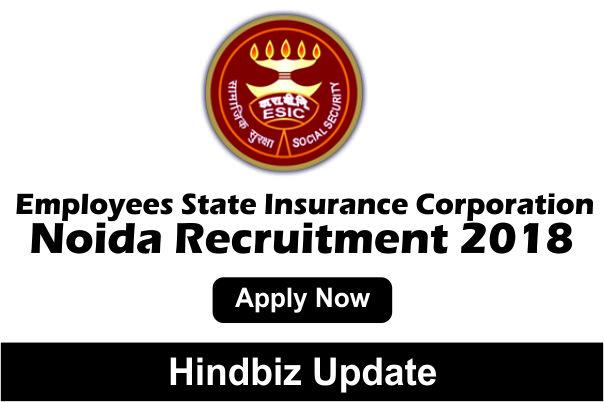 How To Apply Esic Noida Recruitment 2018 Senior Resident 21