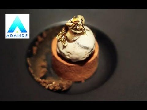 Michelin star chef Alyn Williams prepares a Chocolate Walnut Whip recipe - YouTube