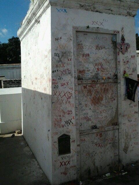 Marie Laveau's Tomb | New Orleans | Pinterest