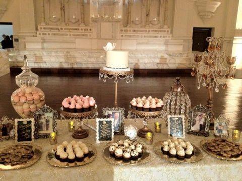 Wedding Cookie Display | Photo Credits: Cookies 1 , Cookies 2 , Cookie Boxes , Cookie Table