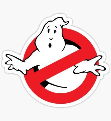 Ghostbusters Logo Pegatina