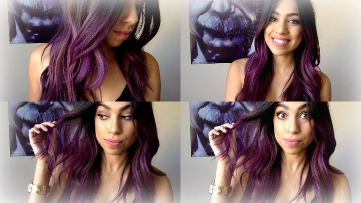 Purple| Ombre Hair ! Manic Panic (Purple Haze)