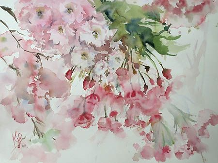 Would be great for a feature wall... Cherry Blossom.