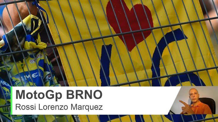 MotoGp 2015 Brno Repubblica Ceca - Lorenzo Marquez Rossi