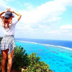 【_yooopiii_】さんのInstagramをピンしています。 《 綺麗な海見て 大自然と戯れ 風を感じて 太陽浴びて 生きてるって気持ちいいね‼︎✨✨ . . #後ろ姿バトン やっちゃう まりぽん @maripon0910  あすか @1.asukaila  みかちゃん @miiika___09  バトン回してくれてありがとう . . ✈️2017/1/23 #三角点 #伊良部島#宮古島#海#絶景#崖#沖縄#旅女子#離島#島旅#タビジョ#旅#カメラ女子#キャップ女子#オリンパス#宮古ブルー#girls#trip#travel#ocean#okinawa#Miyakojima#island#Japan#OLYMPUS##filmwalkr#genic_mag#mylove》