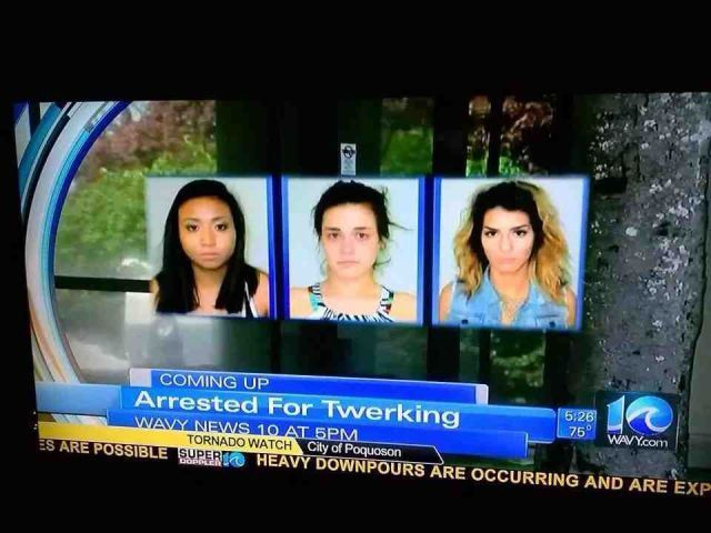 Who Would Have Thought That You Could Be Arrested For That? http://techmash.co.uk/2014/08/04/who-would-have-thought-that-you-could-be-arrested-for-that/ #twerking #arrested