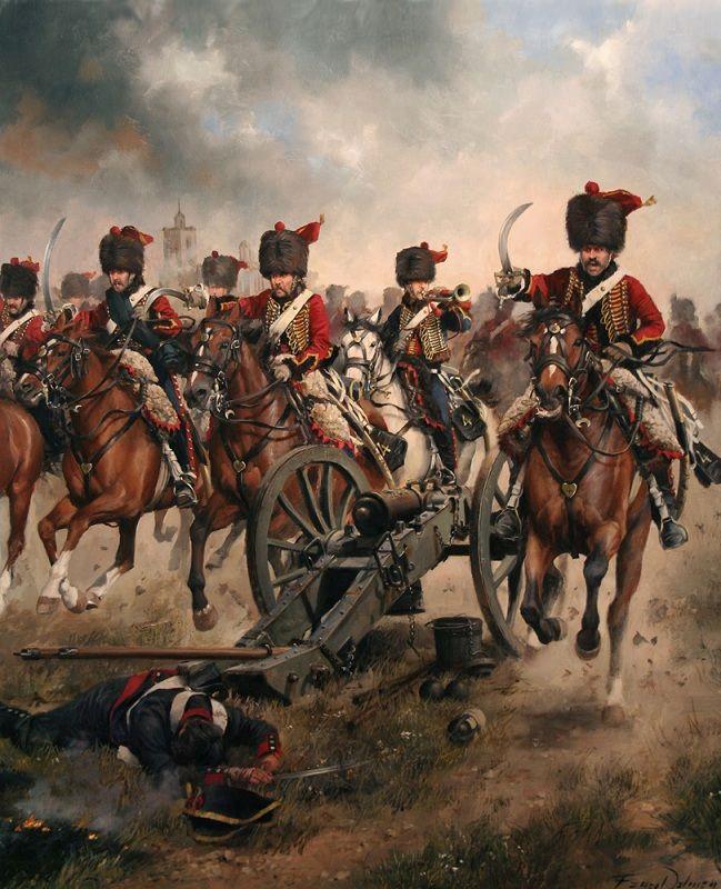 Husares en Tarragona durante las Guerras Napoleonicas, 1808