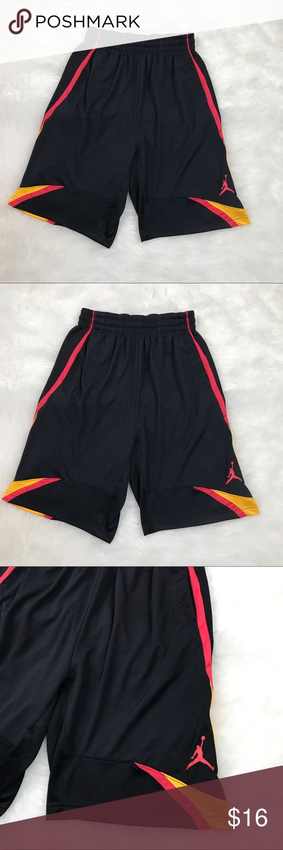 Jordan Dri Fit Athletic Shorts Small True Flights Jordan Brand - Dri Fit Athletic Shorts - Size Small - excellent condition - FAST SHIPPING! Smoke and pet free home. Jordan Shorts Athletic