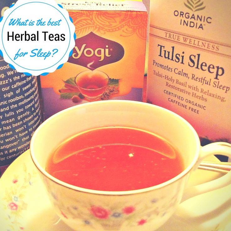 Herbal Sleep Teas | Natural Insomnia Remedy | Best Tea for Sleeping