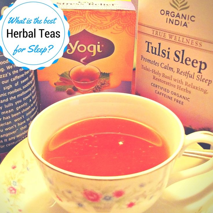 Herbal Sleep Teas | Natural Insomnia Remedy | Best Tea for Sleeping