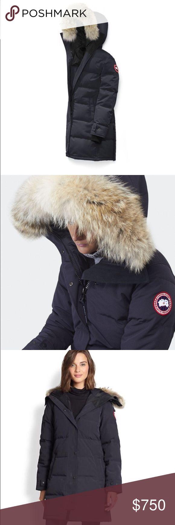 Navy Blue Canada Goose Shelburne Parka Best in Class Winter Parka Canada Goose Jackets & Coats Utility Jackets