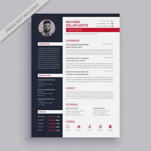 Modern Simple Resume Template Simple Resume Template Resume Design Template Simple Resume
