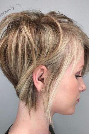 Long Layered Pixie Cut