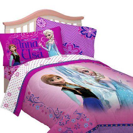 Disney Frozen Bedding Comforter Anna Elsa Cool Bedding Set