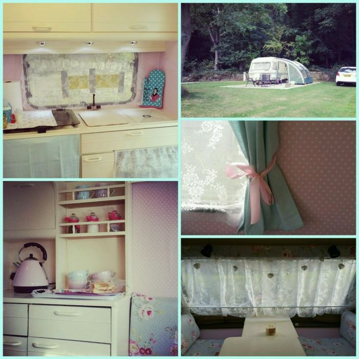 Shabby chic vintage Elddis caravan pink, with full awning, shower, toilet, stove