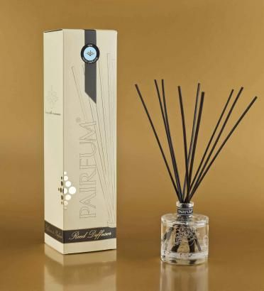 pairfum reed diffuser fragrance perfume scent glass black natural longlasting