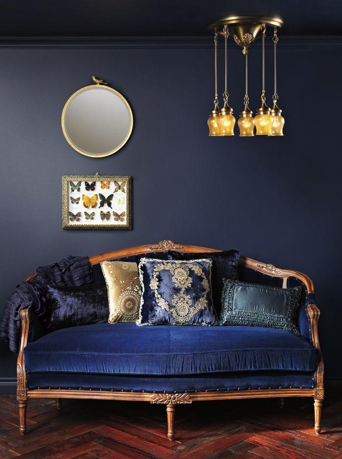 best 25 navy blue couches ideas on pinterest blue sofas. Black Bedroom Furniture Sets. Home Design Ideas