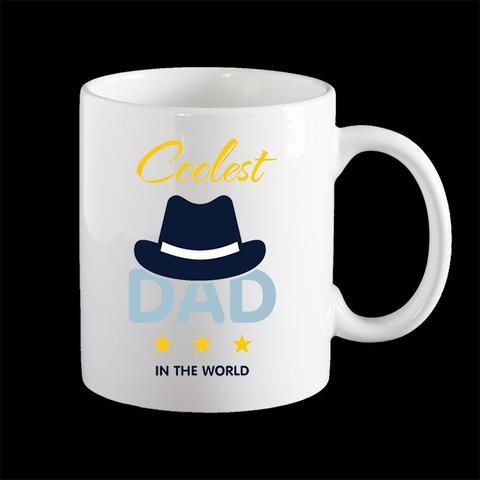 Coolest Dad Fathers Day Coffee Mug