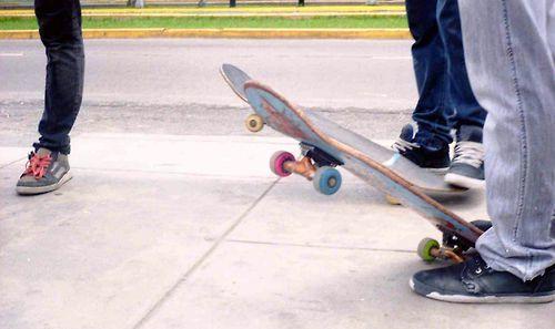 Day skater.