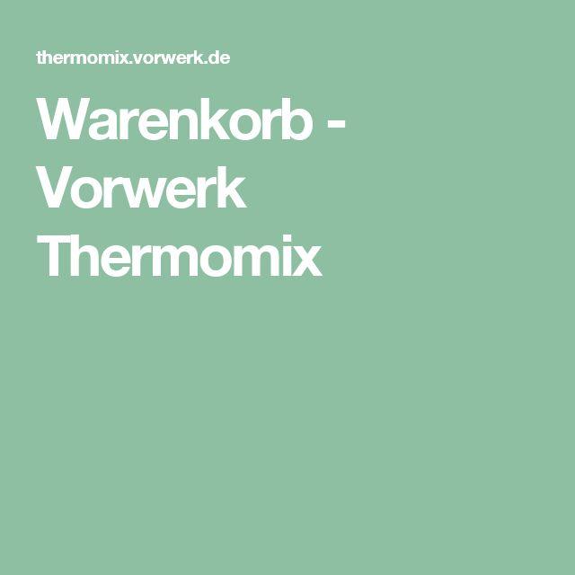 Warenkorb - Vorwerk Thermomix