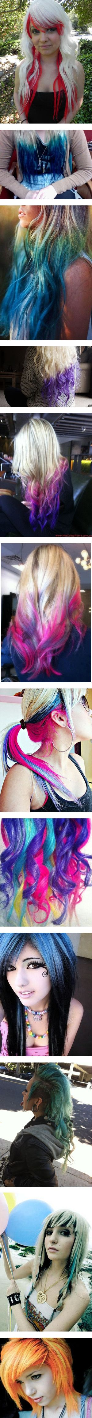 best Barbie Rock images on Pinterest Colourful hair Goth beauty