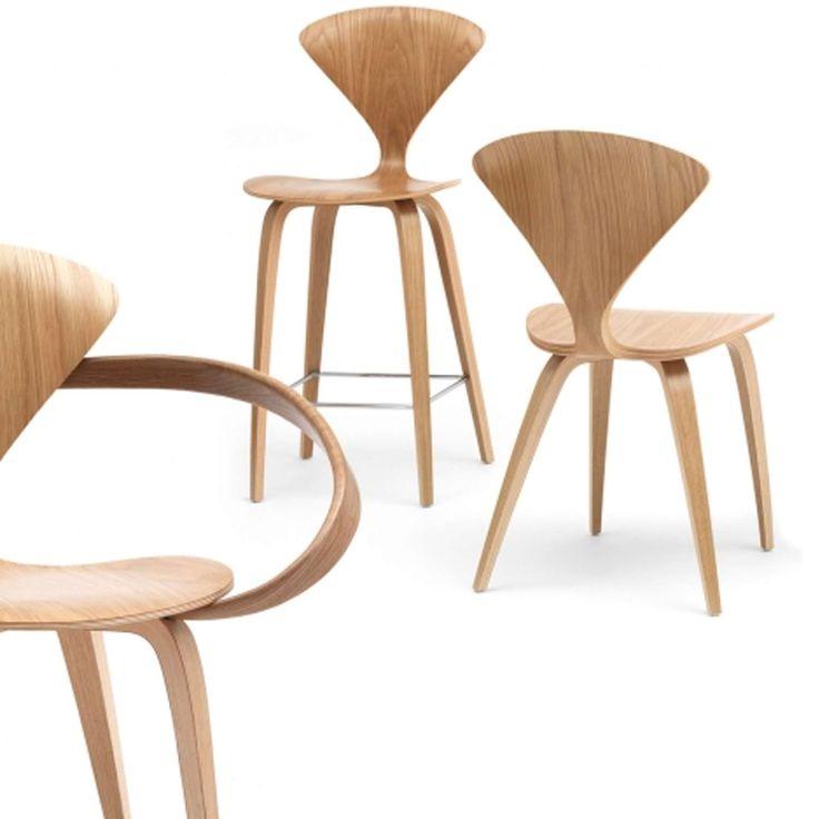 White Oak Cherner Chairs